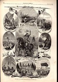 ENGRAVING:'The Life of an Indian'...engravings from Harper's Weekly, June 20, 1868