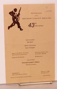 43rd anniversary