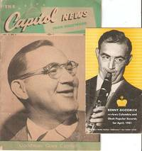 TWO ITEMS FEATURING BENNY GOODMAN:  Capitol News from Hollywood, Vol. 5, No. 3, March 1947  +  Benny Goodman reviews Columbia and Okeh Popular Records for April, 1941