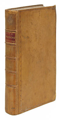 Laws Concerning the Election of Members of Parliament, London, 1774