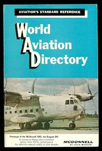 image of WORLD AVIATION DIRECTORY:  LISTING AVIATION COMPANIES AND OFFICIALS COVERING THE UNITED STATES, CANADA AND 136 COUNTRIES IN EUROPE, CENTRAL AND SOUTH AMERICA, AFRICA AND MIDDLE EAST, AUSTRALASIA AND ASIA.  SUMMER 1965.  VOLUME 26, NUMBER 1.