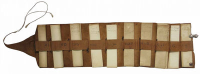 Union, New York, 1892. Softcover. Good. Dates: 1892-1901. Plain brown leather portfolio. 52 printed ...