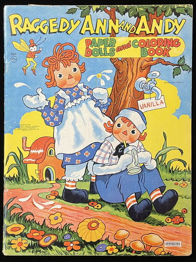 Raggedy Ann and Andy Paper Dolls and...