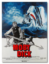 [French Language 'Grande' Poster for:] MOBY DICK