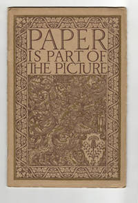 Paper is part of the Picture. A Fact Illuminated By the Drawings of Walter Dorwin Teague for Strathmore Paper Company