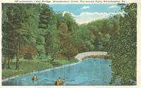 Hermits Lane Bridge, Wissahickon Creek, Fairmount park, Philadelphia, Pa 1956 used Postcard