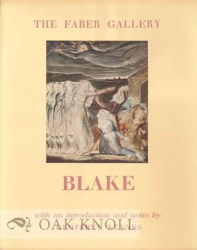 London: Faber and Faber, 1949. stiff paper wrappers, dust jacket, full color Blake reproduction moun...
