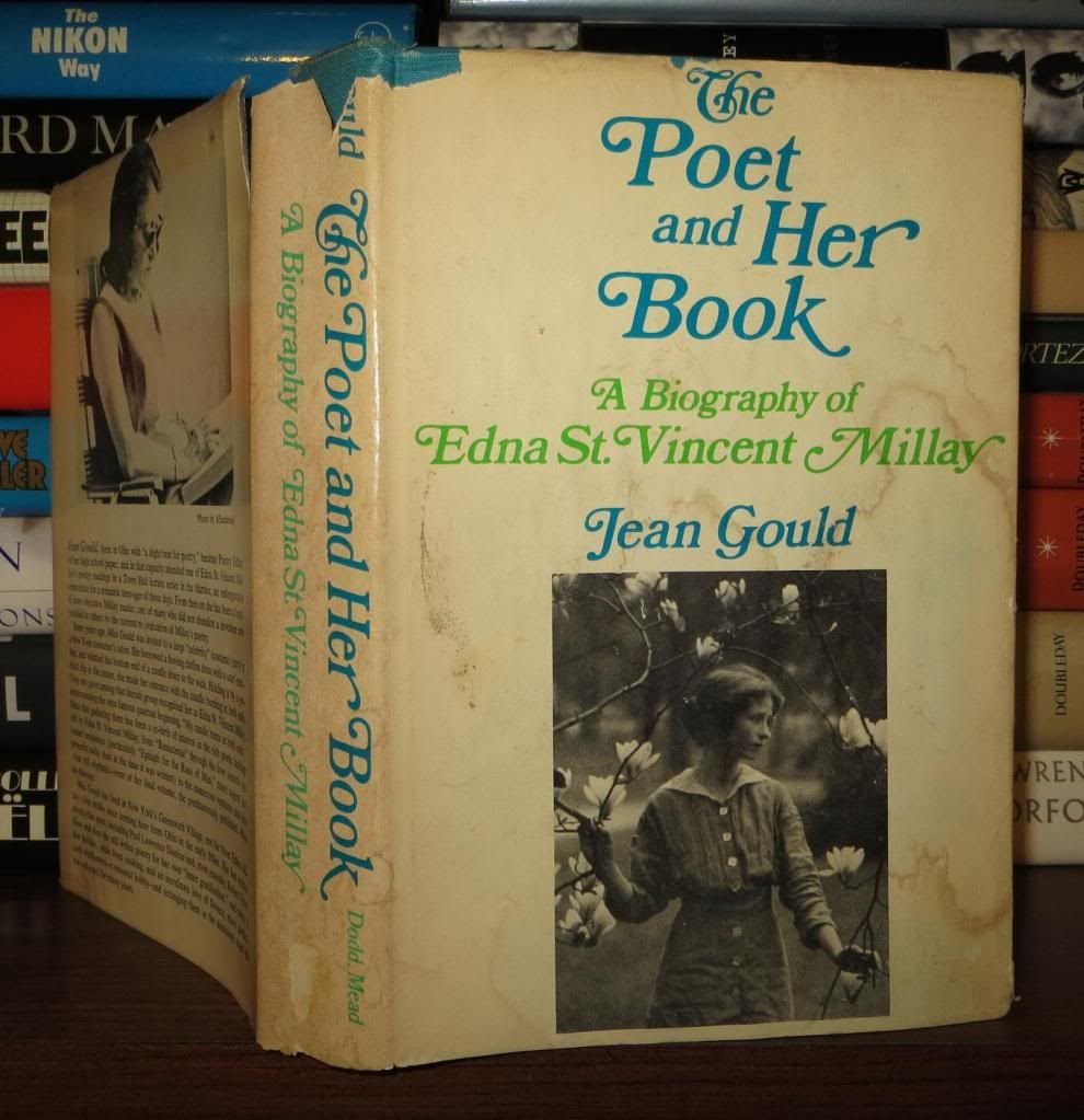 a life history of edna st vincent millay the poet The millay society at steepletop,  the society's mission is to illuminate the life and writings of edna st vincent millay  today is poet edna st vincent.