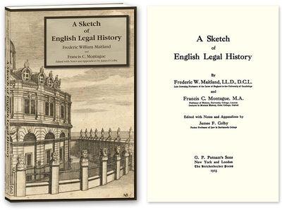 2010. ISBN-13: 9781616190675; ISBN-10: 1616190671. Maitland, Frederic William and Francis C. Montagu...