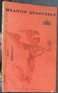 image of Meanjin Quarterly: No. 84 volume XX, number 1, 1961