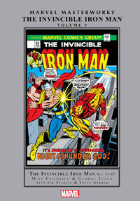 image of The Invincible Iron Man: Marvel Masterworks Volume 9 (First Edition)