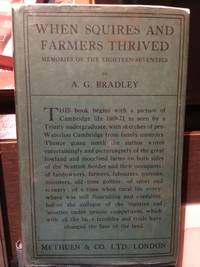 WHEN SQUIRES AND FARMERS THRIVED
