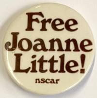 image of Free Joanne Little! [pinback button]