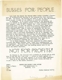 [Drop title] Busses [sic] for People / Not for Profits!
