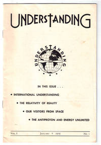 Understanding - January, 1956. First issue.  UFO, New Age / from the Collection of Max Miller