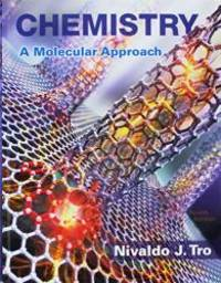 image of Chemistry: A Molecular Approach; Chemistry: A Molecular Approach Selected Solutions Manual, Books a la Carte Edition (4th Edition)