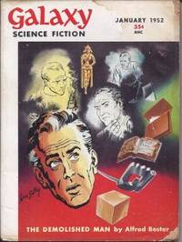 "GALAXY Science Fiction: January, Jan. 1952 (""The Demolished Man"")"