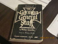 History of The German General Staff
