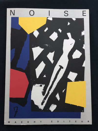 French art magazine Noise no. 7, Maeght Editeur 1987. With original lithographs in color by Karel Ap...