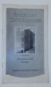 AMERICAN CORTO RADIATORS Dimensions and Ratings