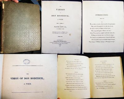 Edinburgh: James Ballantyne and Co., 1811. 122 pages + (2) pages of publisher's announcements at bac...