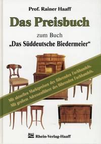 """Das  Preisbuch zum Buch """"Das süddeutsche Biedermeier""""."""