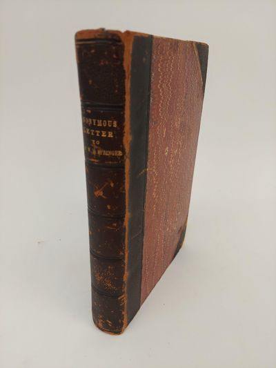 : , 1881. Hardcover. Octavo, xii, 281 pages; VG-; 3/4 bound in black leather, red marbled boards, gi...