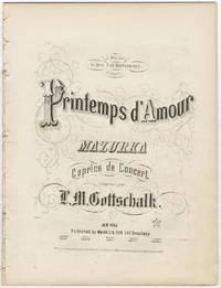 [D-125]. Printemps d'Amour, Mazurka, Caprice de Concert