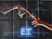 E.T. the Extra-Terrestrial (Original British poster for the 1982 film)
