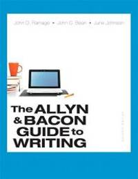 Allyn & Bacon Guide to Writing, The, Plus MyLab Writing with Pearson eText -- Access Card...