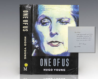 London: Macmillan London Limited, 1989. First edition of Young's major biography of Thatcher based o...