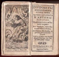 1659 Antonio da Padova Patavini Divinarum Sententiarum Holy Oration Padua Saint by Antonio di Padova - 1659 - from Sigedon LTD (SKU: 29798)