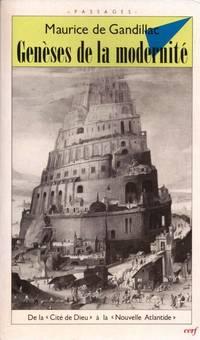 """Genèses de la modernité. De la """"Cité de Dieu"""" à la..."""