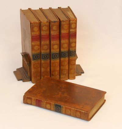 London: Alex. Hogg, 1795. Leather bound. Very good. Six volumes (complete), octavo size, 2366 total ...