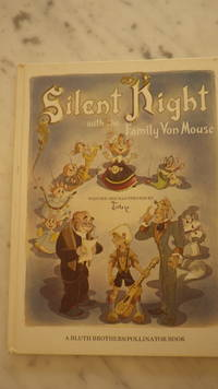 Silent Night with the Family Von Mouse, SIGNED by TOBY Illustrator, Presently being Developed as Animated Film by  Pollinator Productions Hollywood,