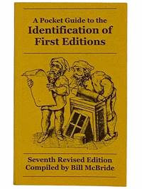 image of A Pocket Guide to the Identification of First Editions: Seventh Revised Edition