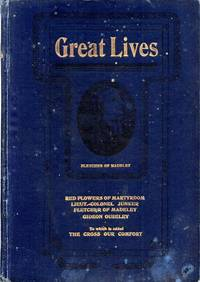 Great Lives: Red Flowers of Martyrdom (Douglas); Lieut.-Col. Jacob Junker of Germany (Railton); Fletcher of Madeley (Allen); Gideon Ouseley: An Old-time Irish Salvationist (Railton); The Cross Our Comfort (Booth-Tucker)