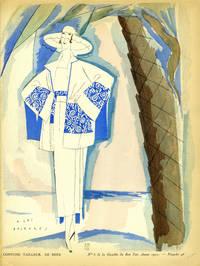 A Las Baleares, Costume Tailleur, de Beer; Print from the Gazette du Bon Ton