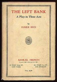 New York: Samuel French, 1931. Hardcover. Fine/Very Good. First edition. Pencil name, fine in a ligh...