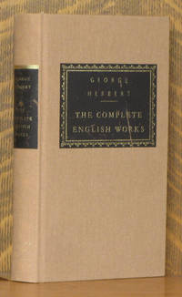 image of George Herbert - The Complete English Works (Everyman's Library)