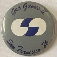 image of Gay Games II / San Francisco '86 [pinback button]