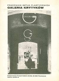 image of Galeria Krytykow. Pracownie sztuk plastycznych [Gallery of Critics. Fine Arts Studios]