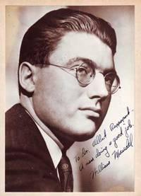 Autographed Photo portrait of William Mandel