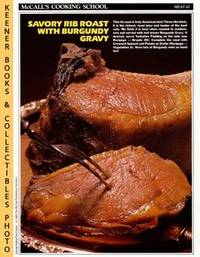 image of McCall's Cooking School Recipe Card: Meat 47 - Standing Rib Roast With  Burgundy Gravy : Replacement McCall's Recipage or Recipe Card For 3-Ring  Binders : McCall's Cooking School Cookbook Series