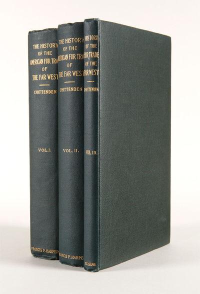 New York: Francis P. Harper, 1902. Three volumes. xxiv,,482pp.; viii,,483- 892pp.; ,893-1029pp., plu...
