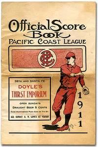 Official Score Book: Pacific Coast League 1911