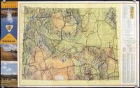 Wyoming Highway Map 1952