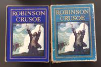 image of Robinson Crusoe : Illustrated By N.C. Wyeth : In Superb Condition With The Original Publisher's Box