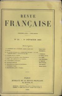 Revue Francaise, Cinquieme Annee - Tome Dixieme, No. 52, 1 Fevrier 1865 [French Review, Fifth...