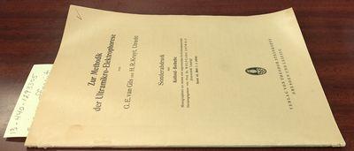 Dresden: Verlag von Theodor Steinkopff. First Edition. Softcover. 8vo, paged -98, illustrated; VG; t...